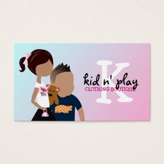 Cartão De Visitas boutique 311-Kid's