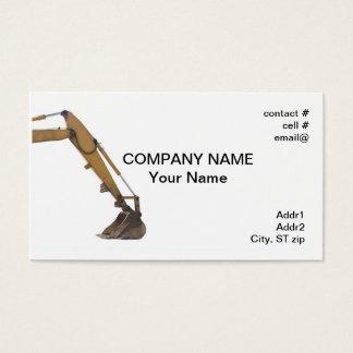 Cartão De Visitas braço hidráulico