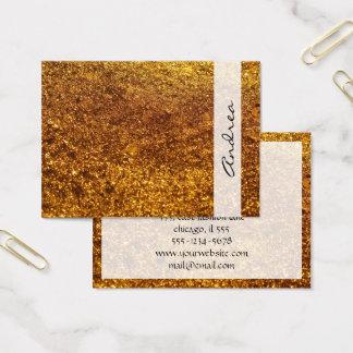 Cartão De Visitas Brilho brilhante, fulgor Sparkling do brilho -