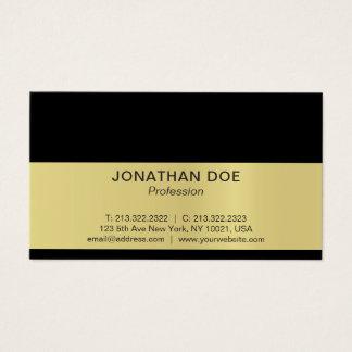 Cartão De Visitas Brilho criativo profissional moderno do preto e do