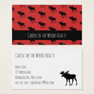 Cartão De Visitas Cabine no Realty das madeiras
