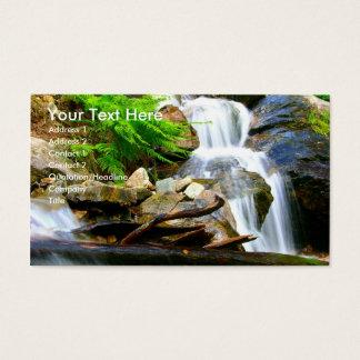 Cartão De Visitas Cachoeira