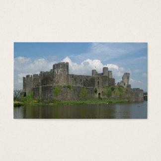 Cartão De Visitas caerphilly castelo