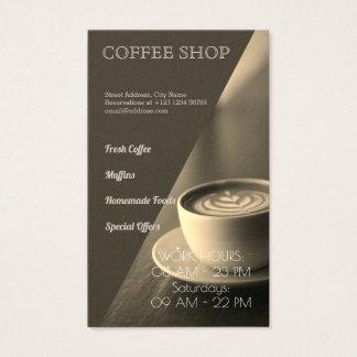 Cartão De Visitas Cafetaria