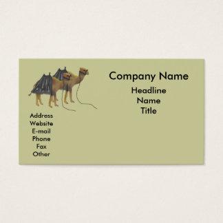 Cartão De Visitas Camelos legal