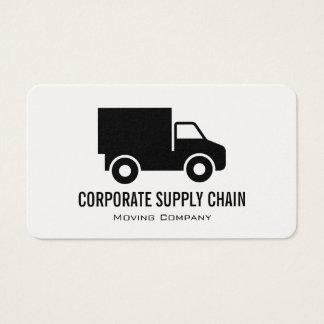 Cartão De Visitas Caminhão incorporado