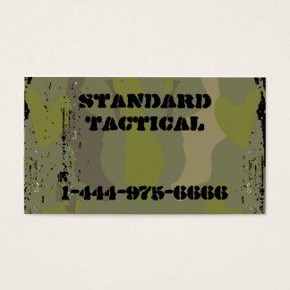 Cartão De Visitas Camo tático