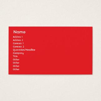 Cartão De Visitas Canadá - negócio