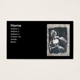 Cartão De Visitas cantor do jazz