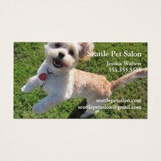 Cartão De Visitas Cão feliz