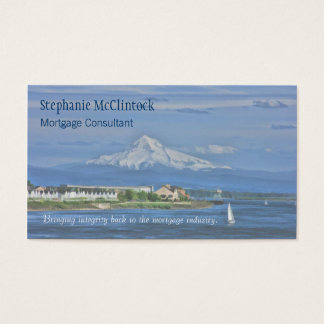 Cartão De Visitas Capa pintada, hipoteca do Mt…
