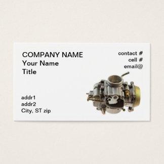 Cartão De Visitas carburador pequeno do motor