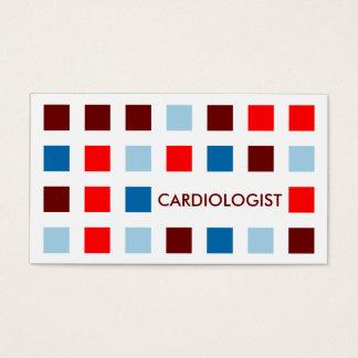 Cartão De Visitas CARDIOLOGISTA (quadrados da modificação)