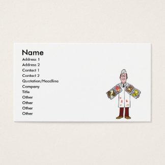 Cartão De Visitas carniceiro