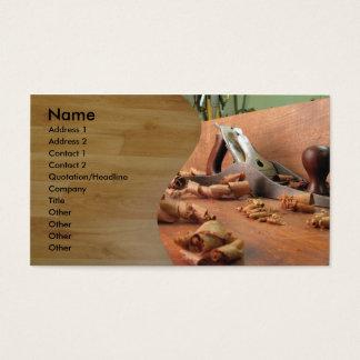 Cartão De Visitas Carpinteiro