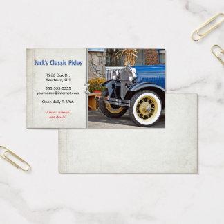 Cartão De Visitas Carro velho clássico