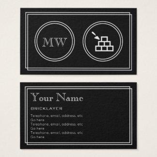 """Cartão De Visitas """"Cartões de visitas do pedreiro do filme"""