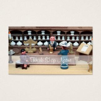 Cartão De Visitas Casa de boneca da loja das ervas