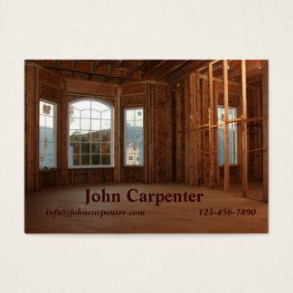 Cartão De Visitas Casa nova sob a construção