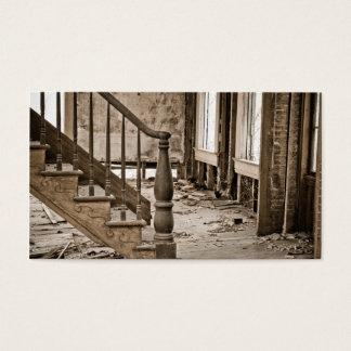 Cartão De Visitas Casa velha que remodela a restauração