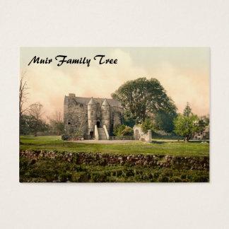 Cartão De Visitas Castelo de Rowallan, Kilmarnock, Ayrshire,