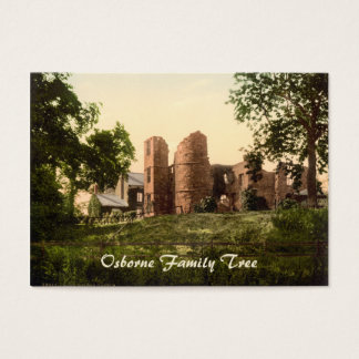 Cartão De Visitas Castelo de Wilton, Ross-em-Wye, Herefordshire,