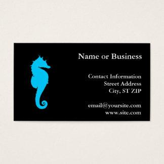 Cartão De Visitas Cavalo marinho aquático