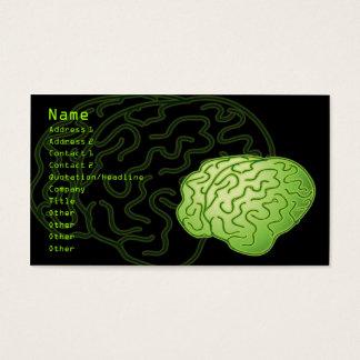 Cartão De Visitas Cérebros obtidos!