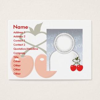 Cartão De Visitas Cerejas - carnudos