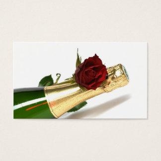 Cartão De Visitas champanhe