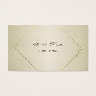 Cartão De Visitas Chique moderno simples elegante