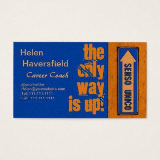 Cartão De Visitas Chique urbano do treinador da carreira do