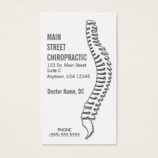 Cartão De Visitas Chiropractor/cartão da nomeação