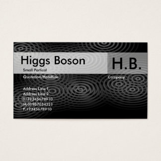 Cartão De Visitas Chuva elétrica - cinza - personalizada