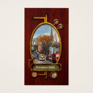 Cartão De Visitas Cidade - Amsterdão NY - Amsterdão do centro 1941