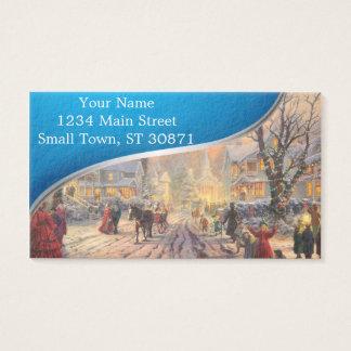 Cartão De Visitas Cidade do Natal - vila do Natal