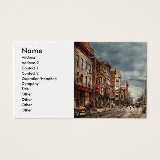Cartão De Visitas Cidade - NY - o mercado nunca em mudança 1906