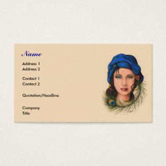 Cartão De Visitas Cigano