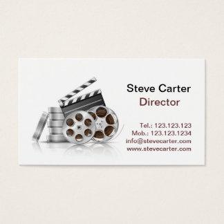 Cartão De Visitas Cinema do ator da chave de fenda da câmera do