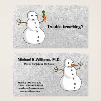 Cartão De Visitas Cirurgia plástica e bem-estar