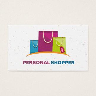 Cartão De Visitas Cliente pessoal do consultante de forma