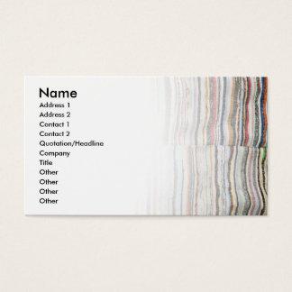 Cartão De Visitas Cobertura açoriana típica