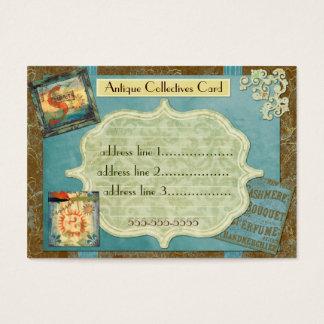 Cartão De Visitas Colectividades antigas feitas sob encomenda
