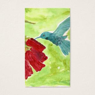 Cartão De Visitas colibri