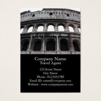 Cartão De Visitas Colosseum romano
