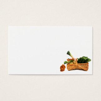 Cartão De Visitas comida