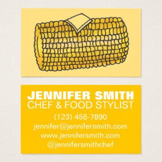 Cartão De Visitas Comida do fornecedor do restaurante do cozinheiro