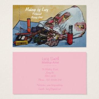 Cartão De Visitas compo o design do artista retro para compo