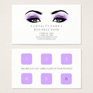 Cartão De Visitas Composição do salão de beleza do cliente do
