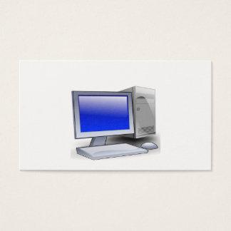 Cartão De Visitas Computador de secretária